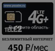 Выгодные тарифы с безлимитным интернетом Санкт-Петербург