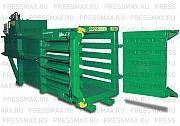Пресс пакетировочный горизонтальный PRESSMAX 730 для вторсырья Москва